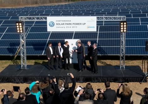 Volkswagen Chattanooga Solar Park - Launch