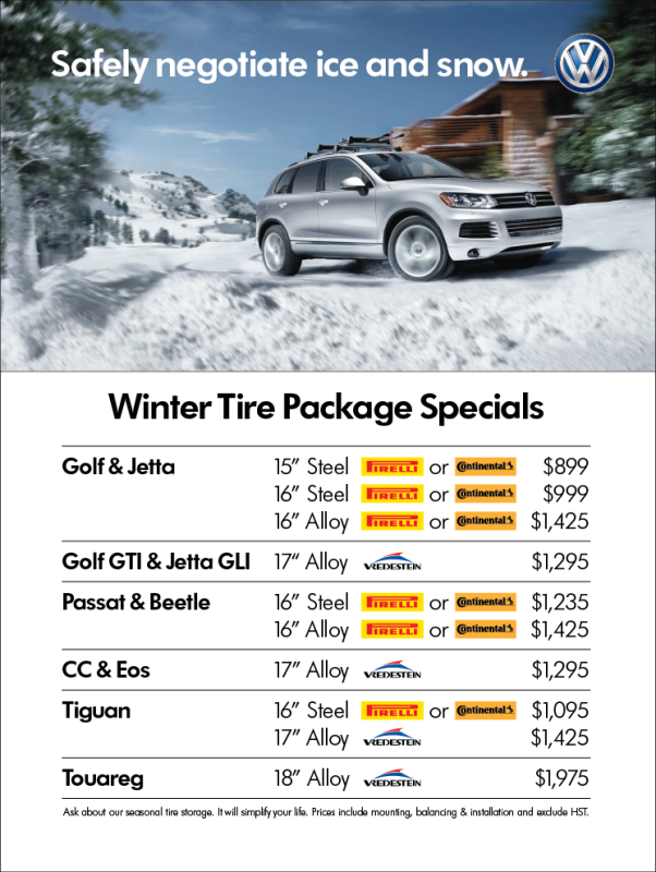 Feb 2016 Winter Tire Promo